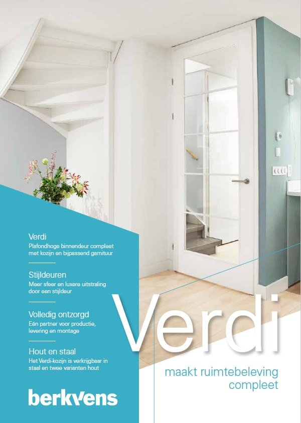 Verdi brochure